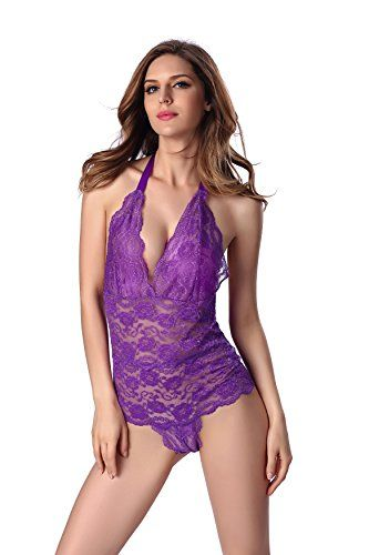 Womens Sexy Lingerie Babydoll Chemises Nightwear Sleepwear Set from iKupvida -- Be sure to check out this awesome product. Note:It is Affiliate Link to Amazon.