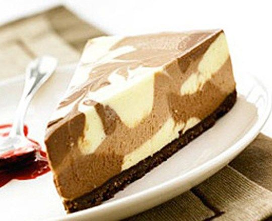 Decadent Triple Chocolate Cheesecake
