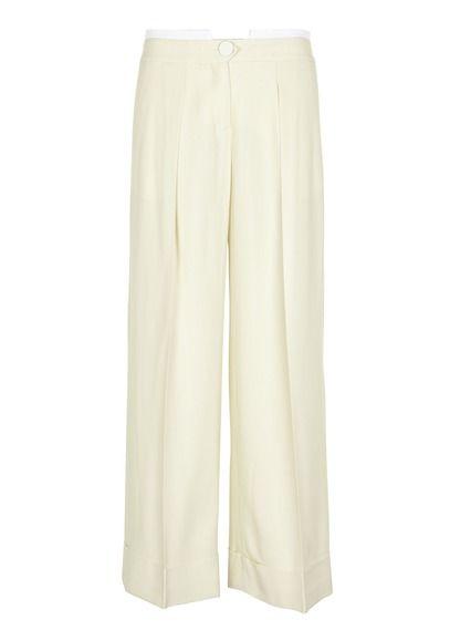 E-shop Pantalon Large En Viscose Blanc Tara Jarmon pour femme sur Place des tendances Groupe Printemps. Retrouvez toute la collection Tara Jarmon pour femme.