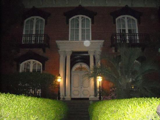 6th Sense World / Sixth Sense Savannah Ghost Tours: An orb captured at one of the houses on the Sixth Sense Savannah Tour