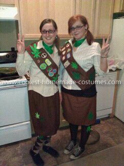 Brownie Costume, Girls Scouts, Pots Brownies, Coolest Pots, Brownies ...