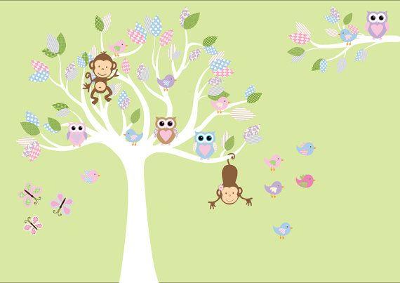 Custom Nursery Wall Stickers Children Wall Decal  by NurseryDecals, $109.99