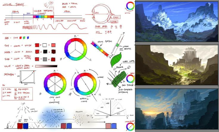 Character Design Theory Pdf : Best t color images on pinterest theory