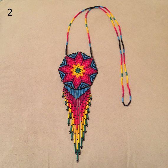 Hermosa mexicana Huichol collar