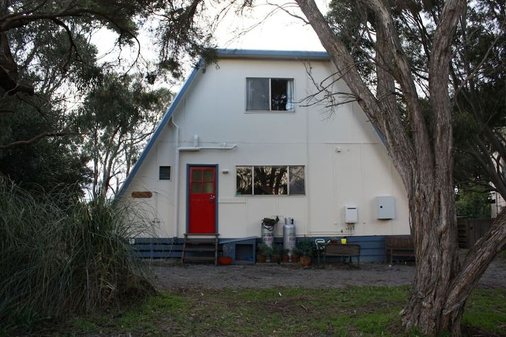 House in Ventnor, Australia. The house was built in 1968 from a kit. We purchased the house in 2013. It has been our aim to preserve the house as much as possible and to celebrate it's uniqueness. But most of all the house is intended to by used, lived in and generally knocke...