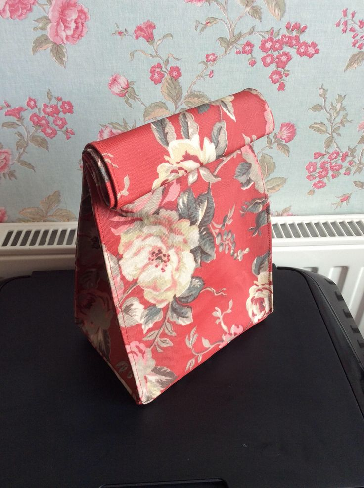 A personal favourite from my Etsy shop https://www.etsy.com/uk/listing/522750998/handmade-lunch-bags-in-cath-kidston
