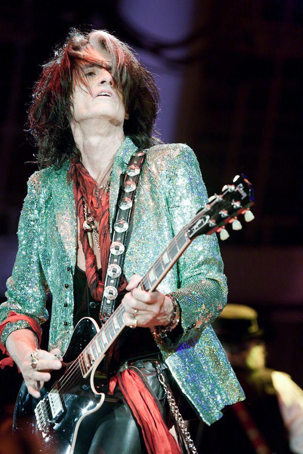 Steve Perry Aerosmith Guitarist