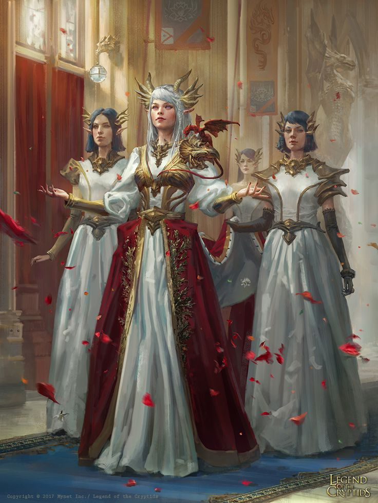 f Cleric of the Dragon LG 18th lvl Temple w other hilvl Minions urban City Story ArtStation – LoC: Dragon Princess, Livia Prima