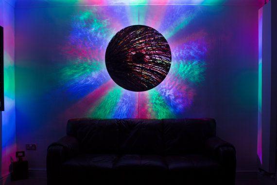 Large round circular abstract wall clock. by ReformationsUK