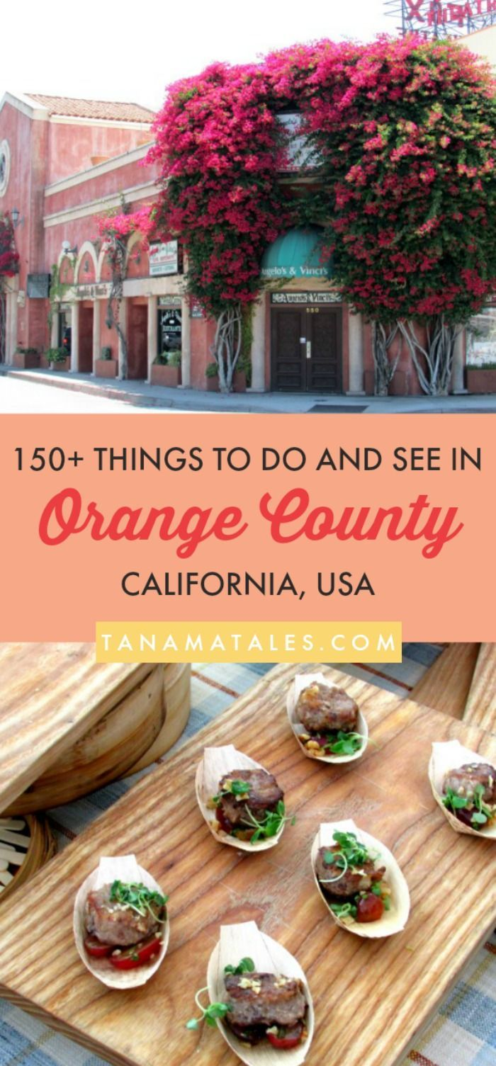 Things to do in Orange County, #California – Travel Tips and Ideas - Orange County has a population of about 3 million and it is considered the third most populous county in California and the sixth in the country.  If you enjoy beaches, fashion, history, theme parks, restaurants (delicious food), and shopping, here I am to tell you all about the places to go, see and eat in the area! #OrangeCounty #Beach #FreeThings