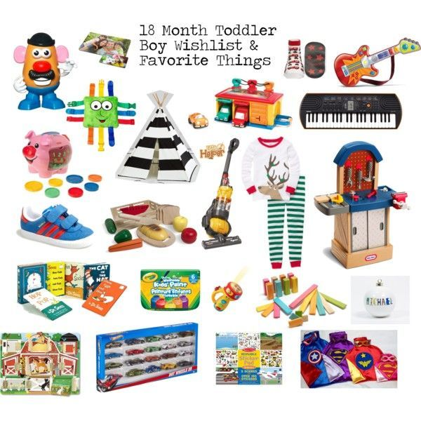 18 Month Toddler Boy Gifts - Wishlist and Favorite Things