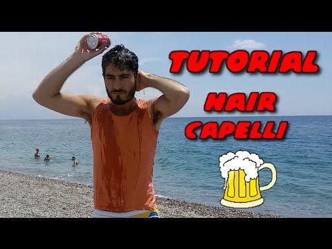 #Lighten #hair with #beer #Schiarire i #capelli con la #birra  #tutorial #makeup #beautytrips