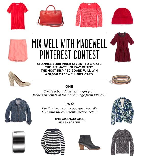 #MixWellMadewell @Madewell  @ELLE Magazine (US) #ellemagazine