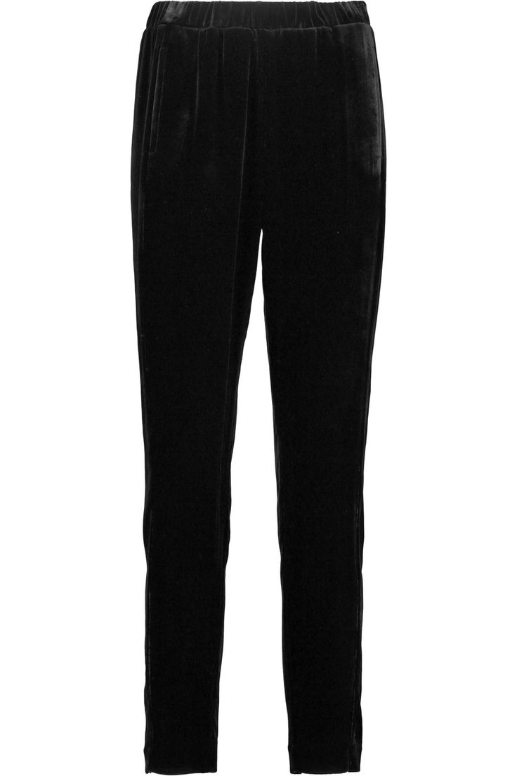 Shop on-sale Theory Velvet slim-leg pants. Browse other discount designer Pants & more on The Most Fashionable Fashion Outlet, THE OUTNET.COM