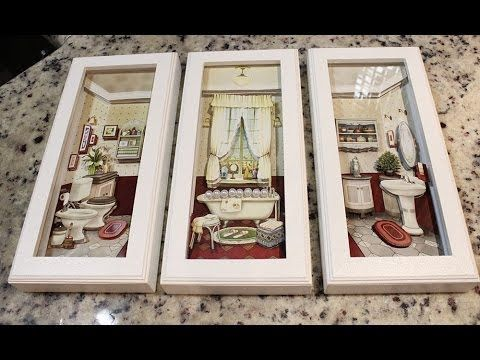 QUADROS DECORATIVOS FOFOS - DIY - YouTube