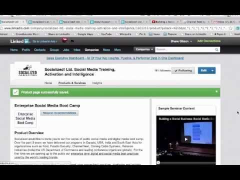 LinkedIn For Business Step by Step Tutorial