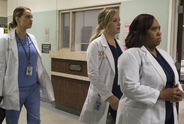 greys anatomy season 13 episode 10 chandra wilson camilla luddington jessica capshaw