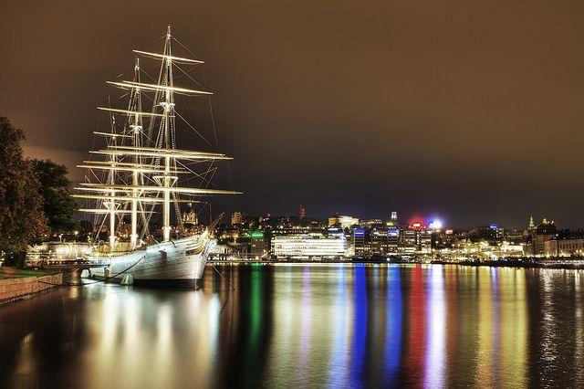Skeppsholmen ve Stockholmu