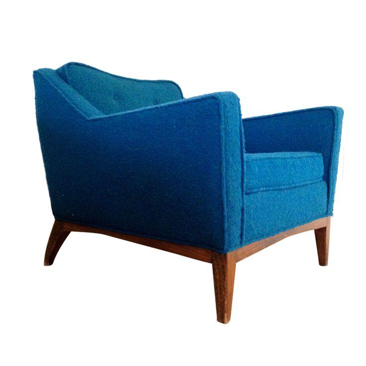 Jens Risom Mid-Century Modern Lounge Chair. USA, 1950s. http://www.1stdibs.com/furniture_item_detail.php?id=630355