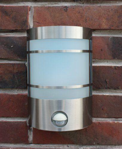 hoflampe mit bewegungsmelder außen