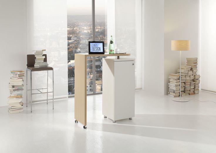 15 best High desks images on Pinterest Desks, Bureaus and Office - k che arbeitsplatte glas