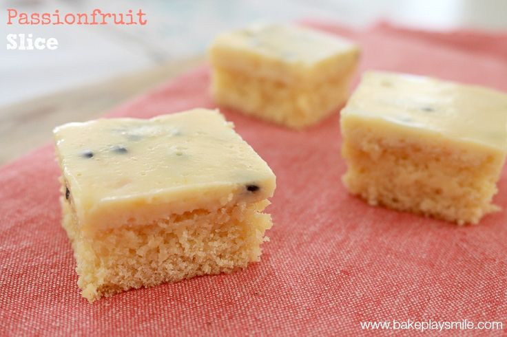 passionfruit slice feature