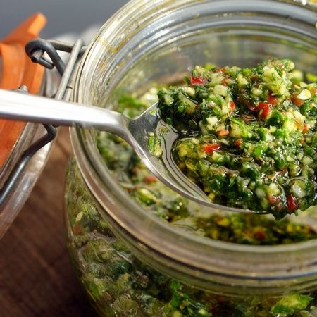 A little bit of Uruguay: Chimichurri -- Secret Food Project
