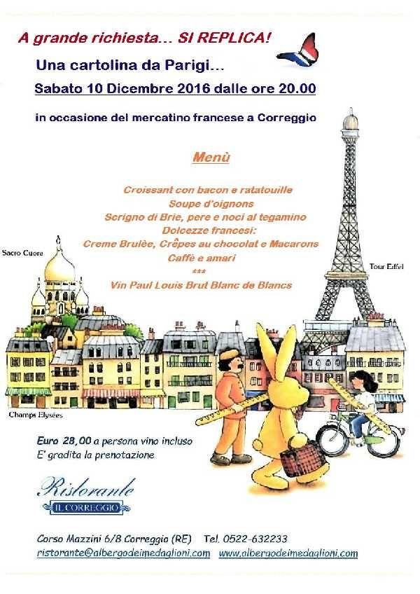 A grande richiesta si replica! Una cartolina da Parigi!