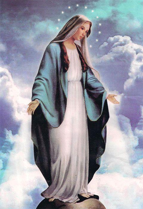 Imagen de la Virgen de la Medalla Milagrosa