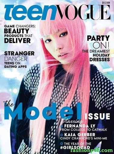 Fernanda Ly – Teen Vogue December 2015 January 2016