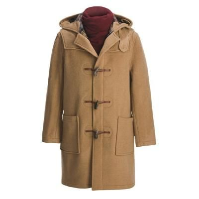 $230, Camel Duffle Coat: John Partridge Montgomery By Classic Duffle Coat Camel. Sold by Sierra Trading Post. Click for more info: https://lookastic.com/men/shop_items/133093/redirect