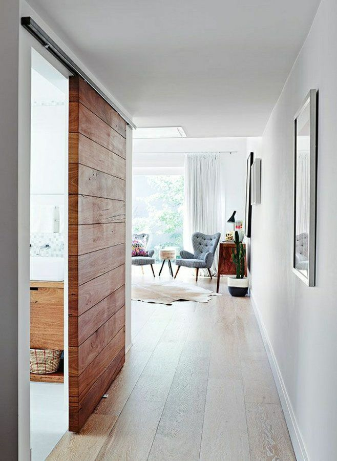 Las 25 mejores ideas sobre puertas corredizas de madera en - Carriles puertas correderas ...