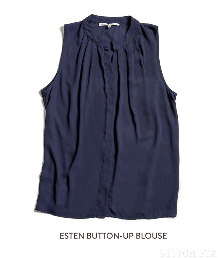 LOVE color & fit! Stitch Fix Esten Blouse