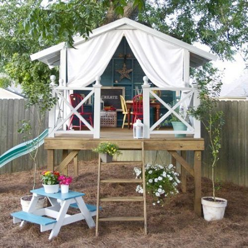 Be inspired to create a wonderland in your garden with these whimsical garden dens
