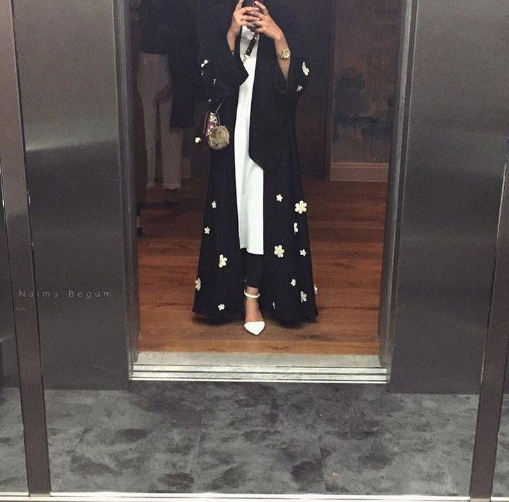 IG: NaimaBegum_ || IG: BeautiifulinBlack || Abaya Fashion ||
