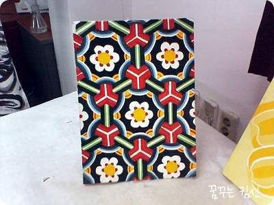 꽃 호랑이와 꽃 개 :: 전통채색/ 옛건물이나 사찰에서 볼 수 있는 단청 그림