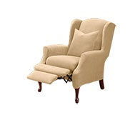 Wingback recliners...I'd be willing to ditch my loveseat for 2 of these perhaps?