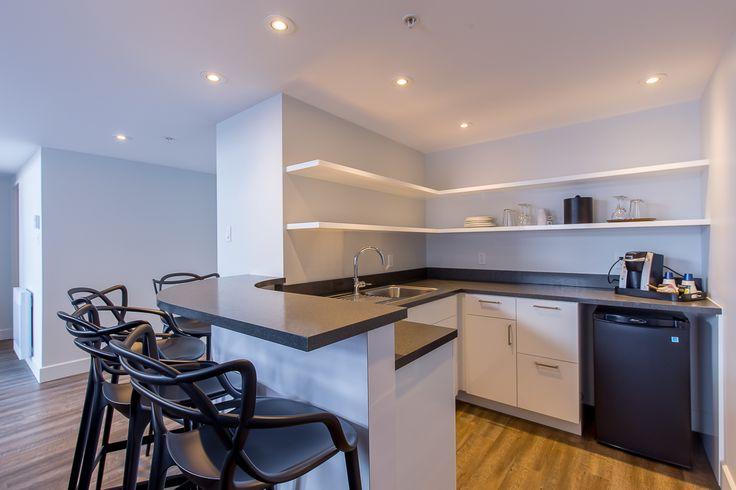 New Getaway Suites, modern dining area.