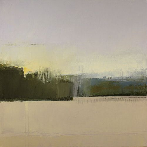 'Stockbridge #2' by American painter Irma Cerese. Acrylic on canvas, 24 x 24 in. via the artist's site