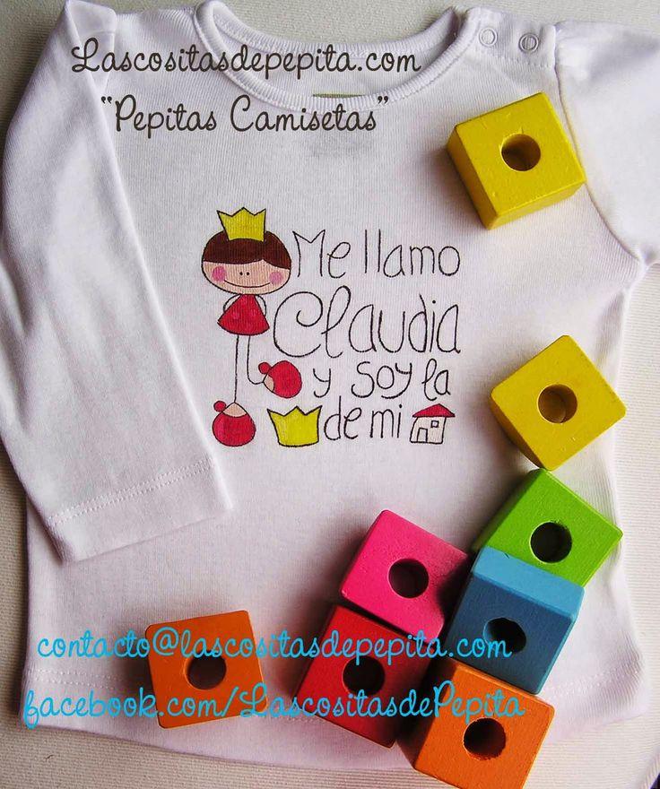 Las cositas de Pepita: Camisetas bonitas para nuestras princesitas
