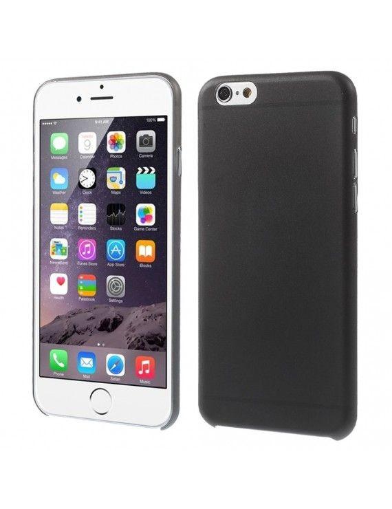 Σκληρή Λεπτή Θήκη 0.3mm Ματ για iPhone 6 - Μαύρο