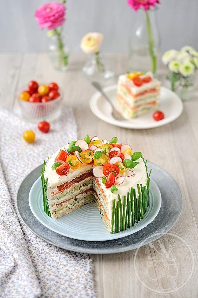 La única tarta #sandwich bonita y apetecible que he visto en mi vida.