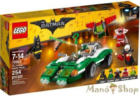 LEGO The Batman Movie Rébusz versenyautója 70903