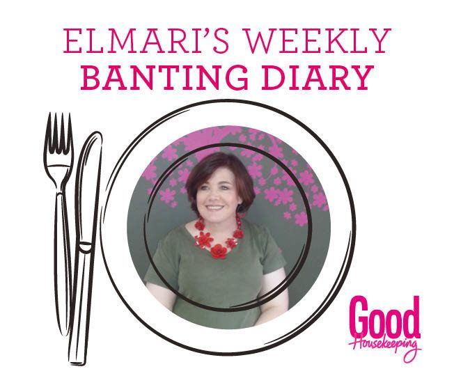 Elmari's weekly Banting Diet Diary: Week 15. Follow Good Housekeeping's senior Afrikaans editor, Elmari Potgieter, as she shares her Banting weight-loss diary: the highs, the lows and everything in between