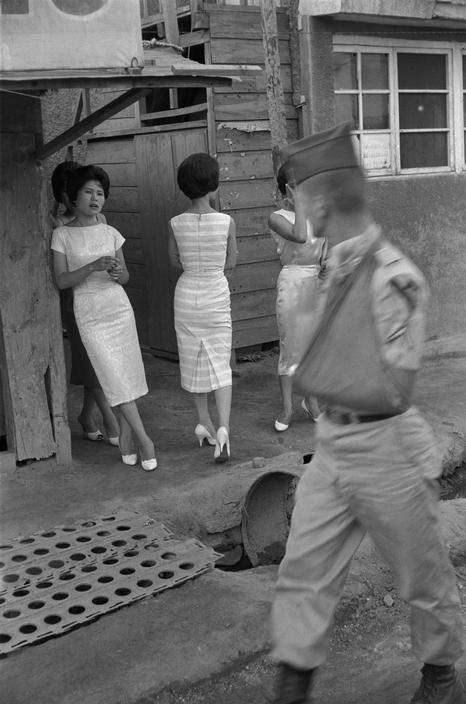 Village of Yon Sul Gol, 1961 by Rene Burri