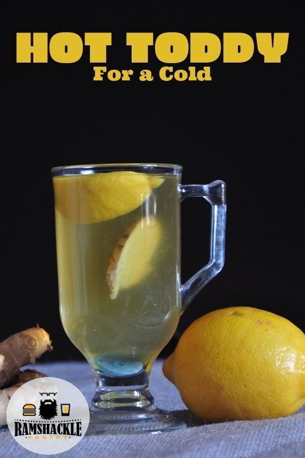 How to make a hot toddy with brandy for a cold