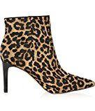 #2: YMXJB Frauen-Heels Mode Stiefeletten sexy Leopard print spitz Rohr in high Heel Stiefel