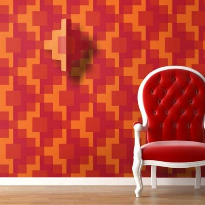 17 best images about wandgestaltung - tapeten - fototapeten, Wohnzimmer dekoo