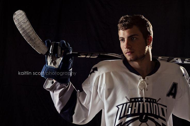 Senior Portraits and Hockey | Kaitlin Scott photography