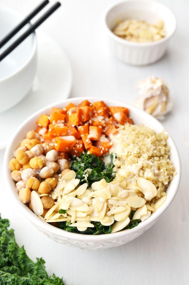 Healthy Kale Salad Bowl